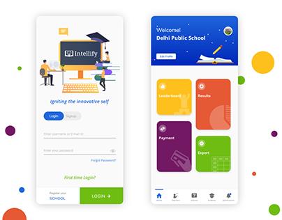 School Dashboard App