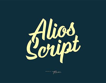 Alios Script Font