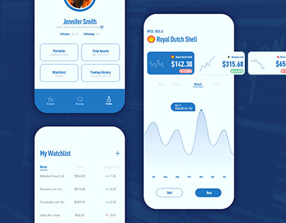 Daily UI Challenge 05 - Stock App