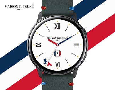 MR TIME x MAISON KITSUNE