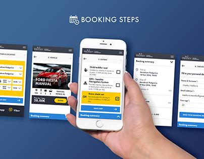UI design - Car rental