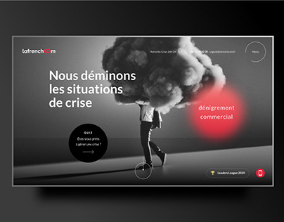 lafrenchcom web design