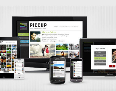 PICCUP Social Site Design