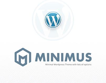Minimus - Minimal Wordpress Theme