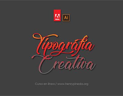 Tipografía Creativa con Adobe Ilustrador