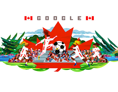 Google Doodle - Women's World Cup Canada
