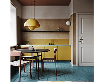 Extraordinary apartment