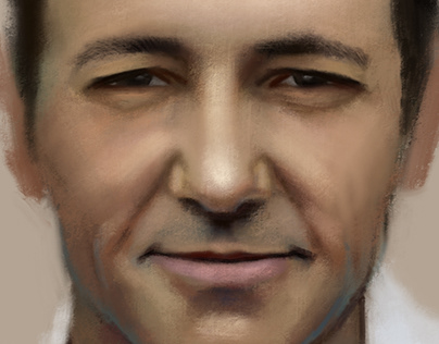 Painting Kevin Spacey