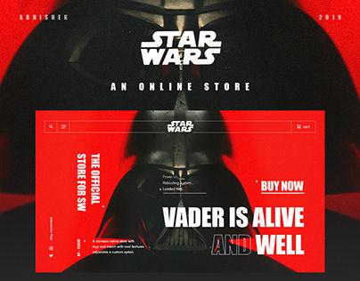 Star Wars Online Store.