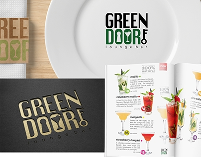 """Green doorf"" lounge bar"