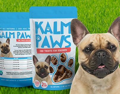 Kalm Paws Package Design