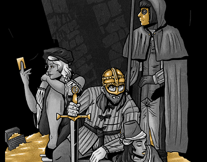 Thieves' Company - Illustrated by: Cas Dwelis