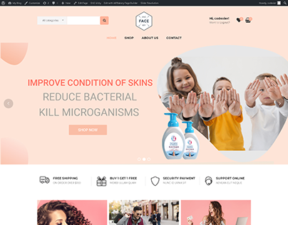 ECommerce Shopping Website
