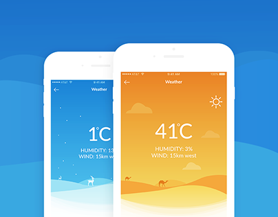 WP4 weather application