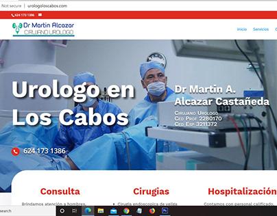 Landing page Urologo en Los Cabos