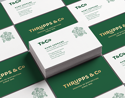 Thrupps Grocers – Brand Identity