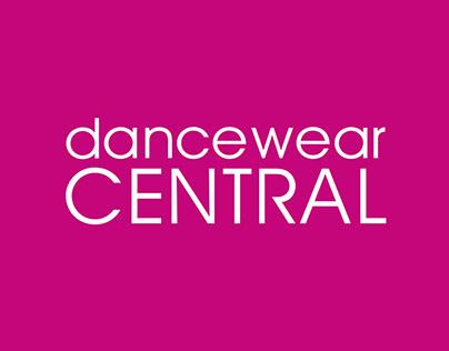 DANCEWEAR CENTRAL BRANDING AND MARKETING DESIGN