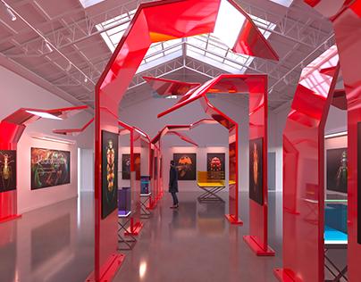 Exhibition design/ Microsculpture