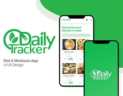 Daily Tracker UI/UX Application
