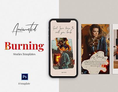Free Burning Animated Stories