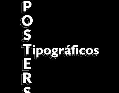 Posters Tipográficos