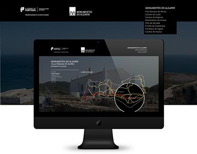 Monumentos do Algarve - Website