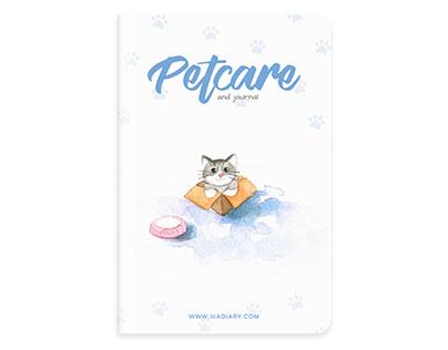 Pet Care Notebook