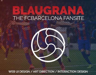 Blaugrana - FC Barcelona Fan Site | Web Design