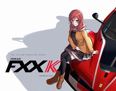 Nishikino Maki x Ferrari FXX K