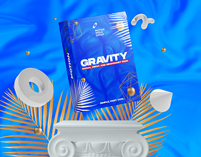 Gravity | Social Media and Broadcast Pack