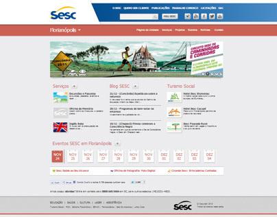 Novo Portal Sesc SC