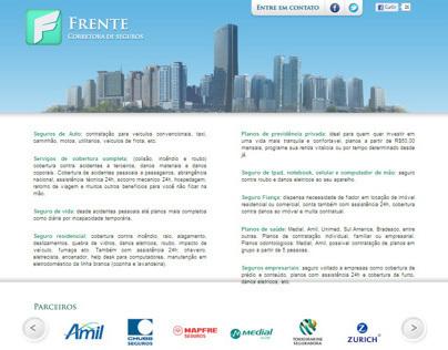 Frente Corretora Website
