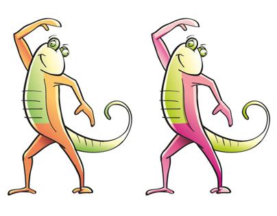 Yomba Chameleon