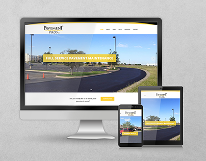 Pavement Pros LLC Website