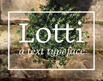 Lotti | Typeface