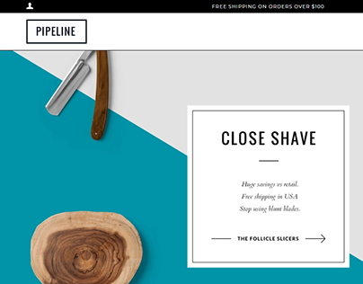 Beauty Product ecommerce website design