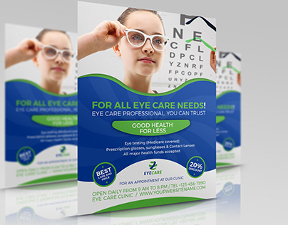 Optometrist & Optician Flyer