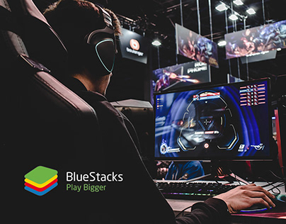BlueStacks - Website Design