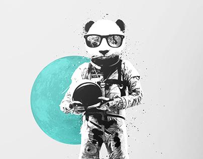 Personal Exploration | Panda Poster