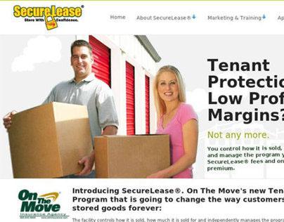 SecureLease ® Website project. HTML