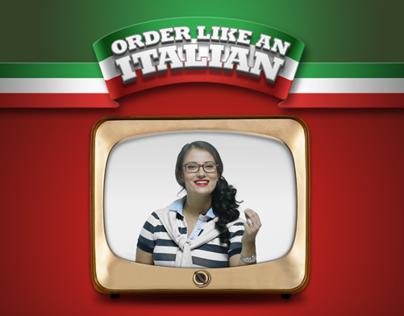 Subway: Order Like an Italian