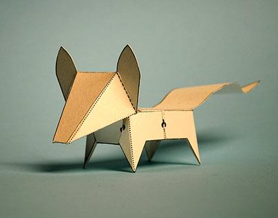 Glueless Paper Animals (JUST FOLD)