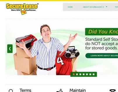 SecureLease ® Consumer Website project. HTML