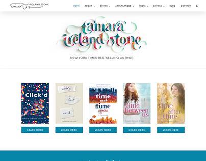 Author Website for Tamara Ireland Stone