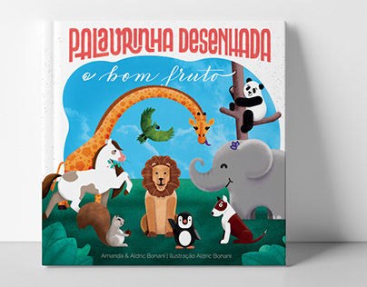 Palavrinha Desenhada   Ilustração e Diagramação