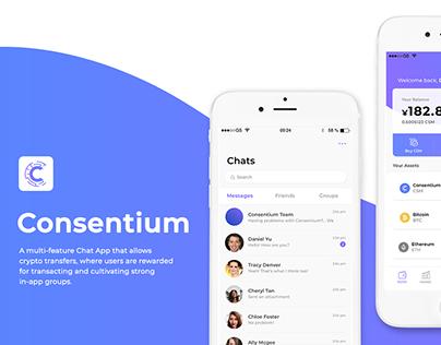 Consentium App UI Design
