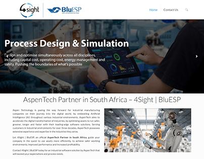 Aspentech - Micro Website Design