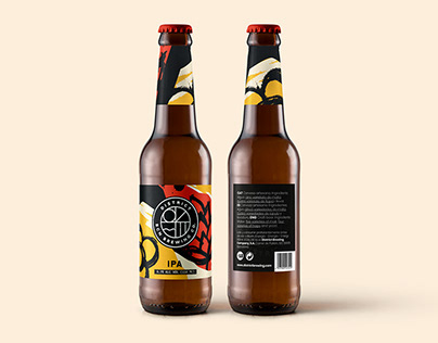 District BCN Craft Beer Brand Identity