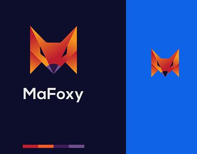 Mafoxy Logo Design ( Fox + Letter M )