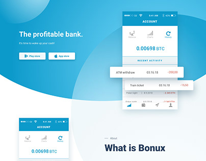 UI & UX Design for Bonux